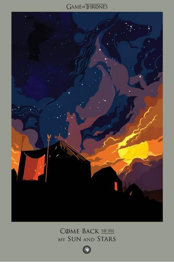 Game of Thrones death poster