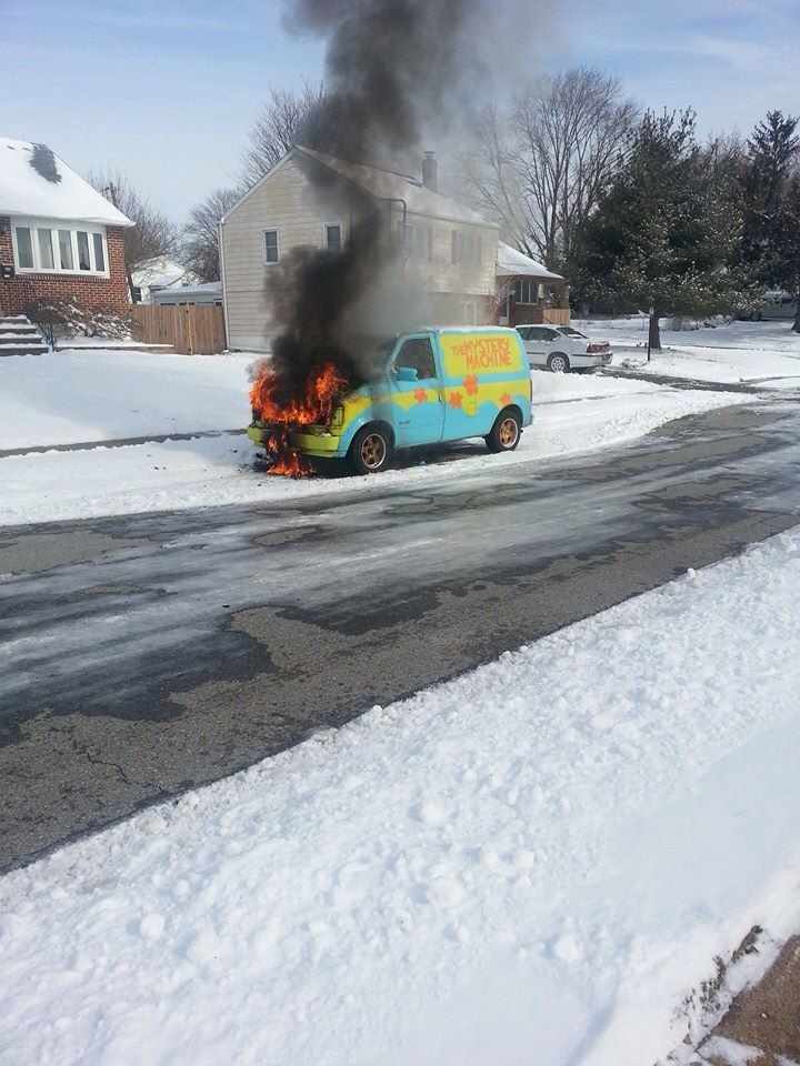 The Mystery Machine is dead