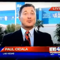 Here's a Reporter Paul Cicala Falling on His Face