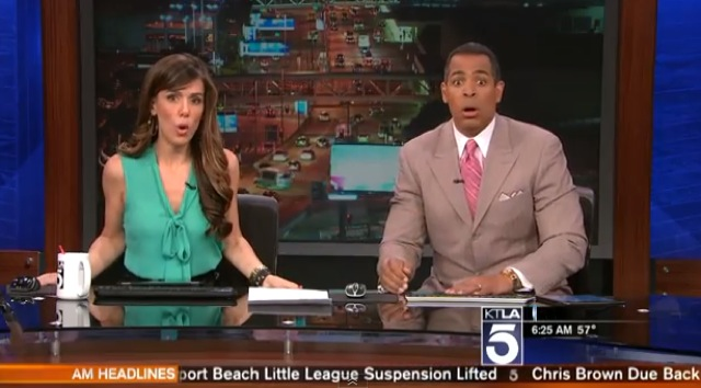 News Anchors Freak Out Over Los Angeles Earthquake