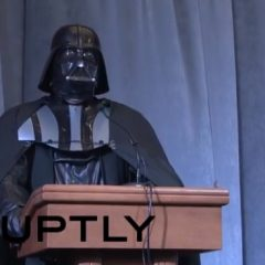 Darth Vader Wants to be President of Ukraine