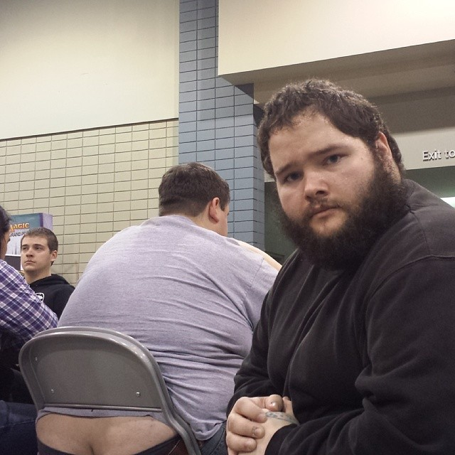 Magic: The Gathering butt crack