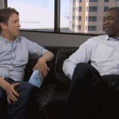 Dikembe Mutombo Does Cookie Monster and Louis Armstrong
