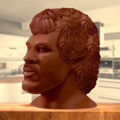 Lionel Richie's Chocolate Head Should Effectively Frighten You