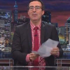 John Oliver Reads Letter From POM Wonderful