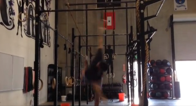 muscle up FAIL!