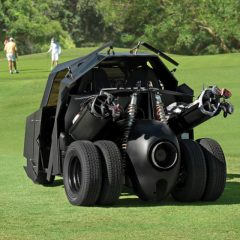Batman-Themed Golf Cart? Batman-Themed Golf Cart