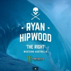 Ryan Hipwood Rides a Damn Big Wave