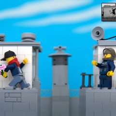 Bricksy: Banksy Recreated in LEGO
