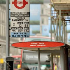 There's a Real LEGO Bus Stop in London