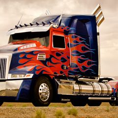 Want to Ride in Optimus Prime?