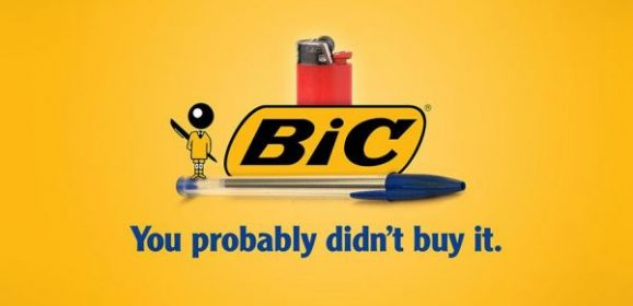 Honest Slogan for Bic