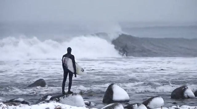 surfing the arctic