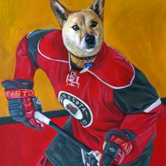 This Dog Plays for the Minnesota Wild