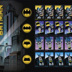 There Are Batman Stamps!