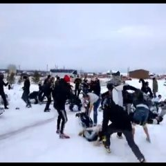 76-Person Russian Soccer Brawl