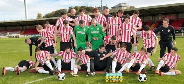 Derry City team photo